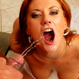 mouth pissing