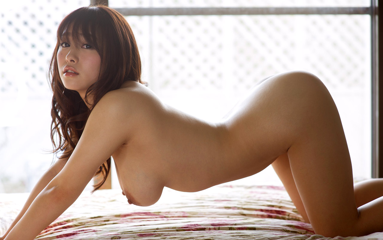 Naked asian girls on action